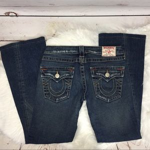 True Religion boot cut jeans size 27